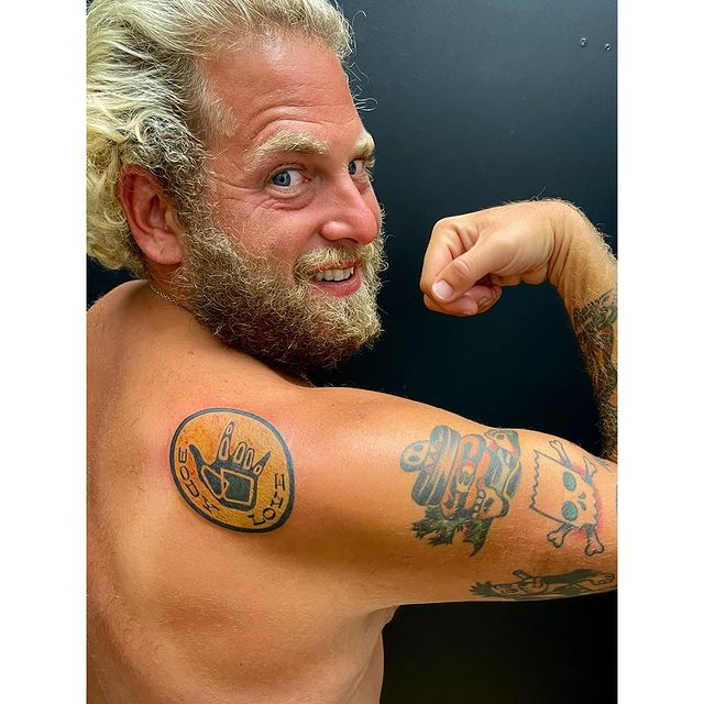 Jonah Hill celebrates body positivity through new tattoos Celebrities