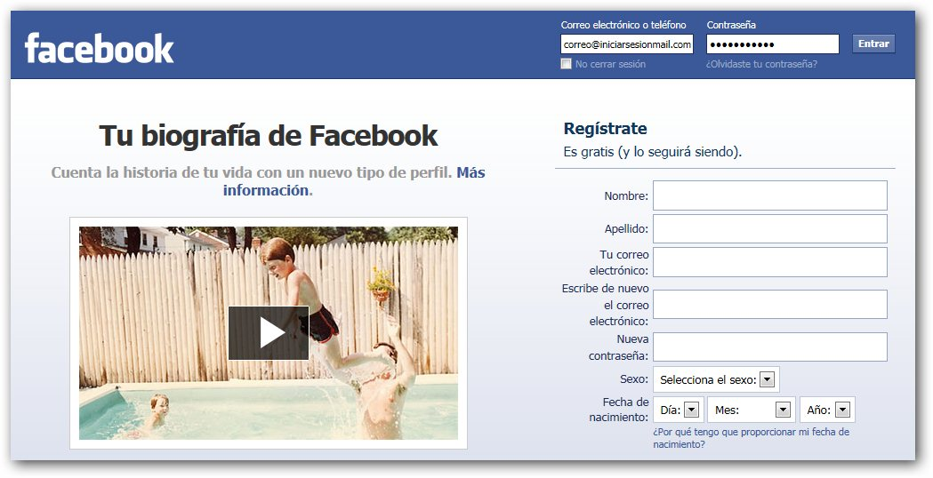 Facebook Iniciar Session - How to Register a Facebook Account